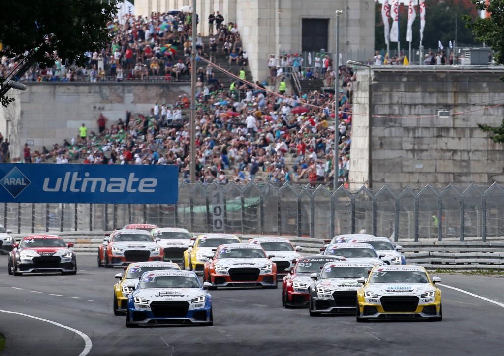 Start, Audi TT cup #27, Dennis Marschall, Audi TT cup #31, Sheldon van der Linde, Audi TT cup #4, Joonas Lappalainen